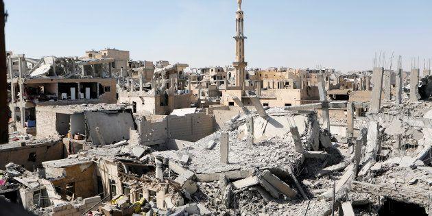 La ville de Raqa, en Syrie. (Image