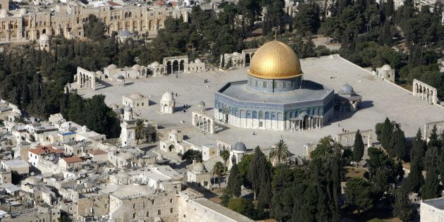 Le dôme du rocher, Jérusalem. REUTERS/Eliana Aponte/File