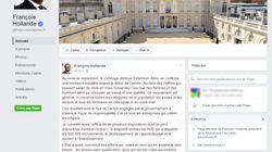 Hollande utilise sa page Facebook pour vanter les chiffres du chômage (et ce n'est pas un