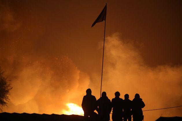 Ravagée par les flammes, la