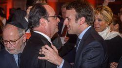 Hollande et Macron se revoient au dîner du Crif (et ça valait bien une