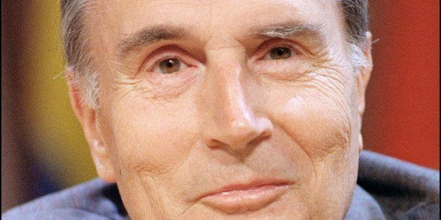 François Mitterrand, le 4 septembre 1987 à Quebec lors d'un sommet de la