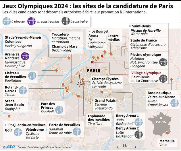 Où en sont Paris et Los Angeles avant leur finale pour l'organisation des JO de