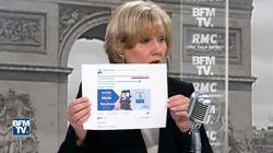 Marine Le Pen était en direct sur Facebook pendant un vote au Parlement européen, et ça a mis Nadine Morano en