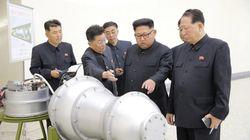Kim Jong-Un inspecte une bombe H destinée à un