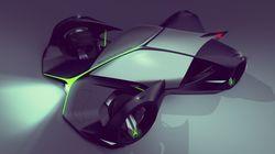 Ce concours donne une idée du design de la voiture de course du