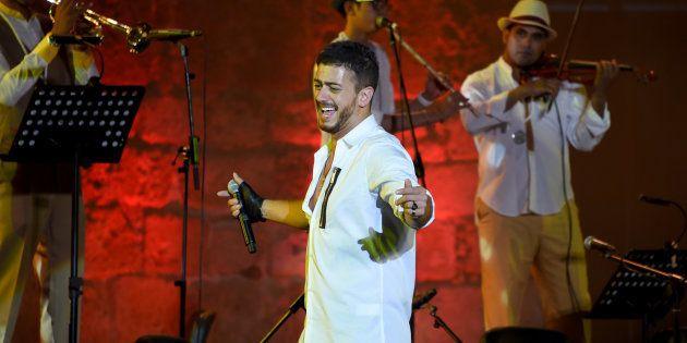 Saad Lamjarred à Carthage en Tunisie le 30 juillet