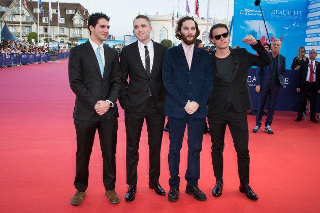 Robert Pattinson inaugure sa cabine sur les Planches au festival de Deauville