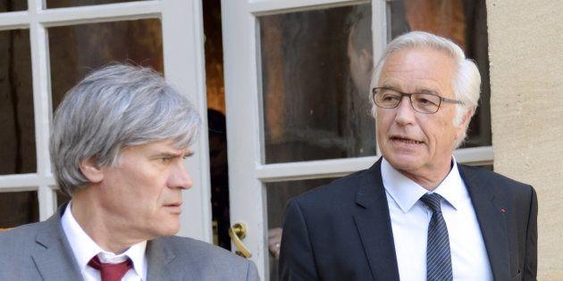 Stéphane Le Fol et François Rebsamen affirment que l'inversion de la courbe du chômage est