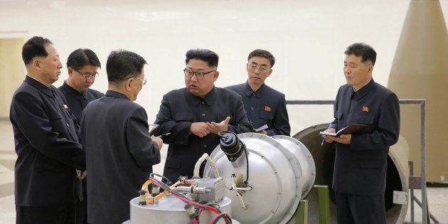 D'une bombe H à une usine de chewing-gum, l'étonnante journée des médias officiels en Corée du