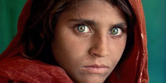 Sharbat Gula, icône de National