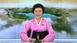La présentatrice des grands jours en Corée du Nord a repris du service pour l'annonce de l'essai