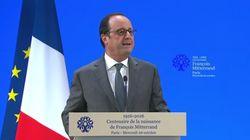 Hollande a-t-il rendu hommage à Mitterrand ou a-t-il parlé de