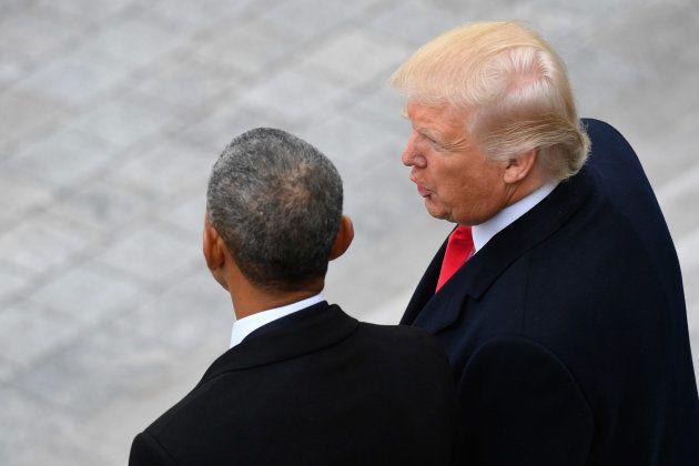 On sait ce qu'il y avait dans la lettre laissée par Obama à Trump dans le Bureau