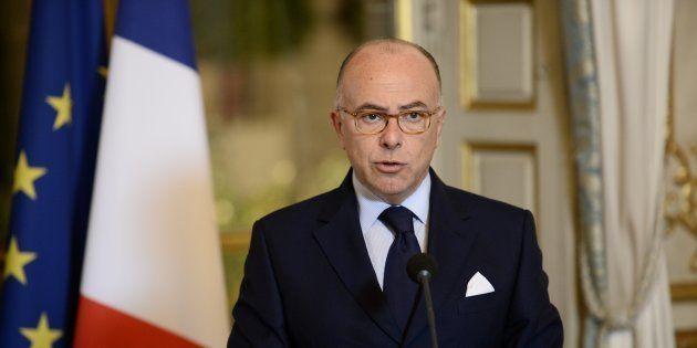 Bernard Cazeneuve à l'Elysée le 26 octobre