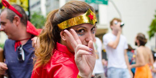Carnaval, soirée costumée: ce qui se cache derrière notre envie de nous déguiser (Sao Paulo, Brésil, 6 février, 2016)