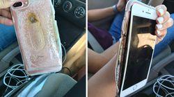 Cet iPhone 7 a pris feu sans raison, Apple se penche sur la