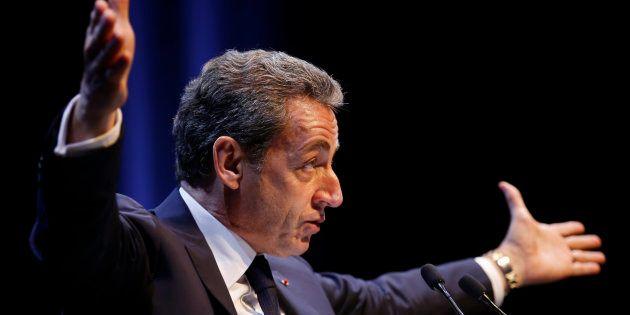 Nicolas Sarkozy à Toulon le 21 octobre