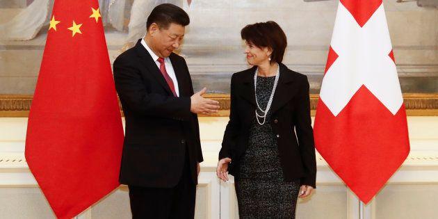 Corée du Nord: La présidente suisse propose son