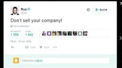 Pourquoi ce tweet pourrait attirer des ennuis au co-fondateur de