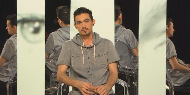 Morgan, homme trans, témoigne pour le documentaire de France 2,