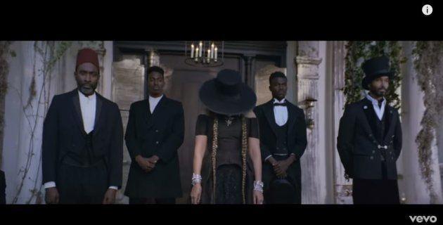 Beyoncé dans le clip de son titre