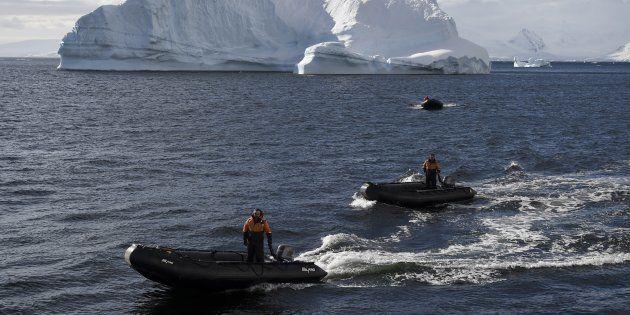 Une aire gigantesque d'1,12 million de km carrés interdite à la pêche en Antarctique
