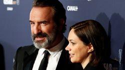 Premier tapis rouge en couple pour Jean Dujardin et Nathalie