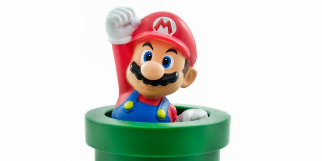 Mario a été plombier, mais il y a bien longtemps, selon sa biographie officielle made in