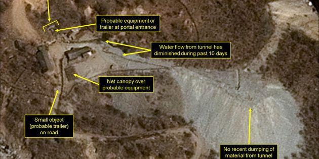 Et si la montagne où ont lieu les essais nucléaires de la Corée du Nord implosait