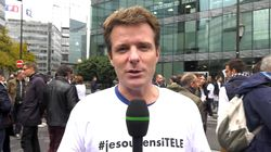 Les salariés grévistes d'iTélé expliquent pourquoi ils soutiennent leur
