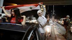 Les Syriens accèdent aux barrages pour le Mondial 2018 et envahissent les rues pour fêter