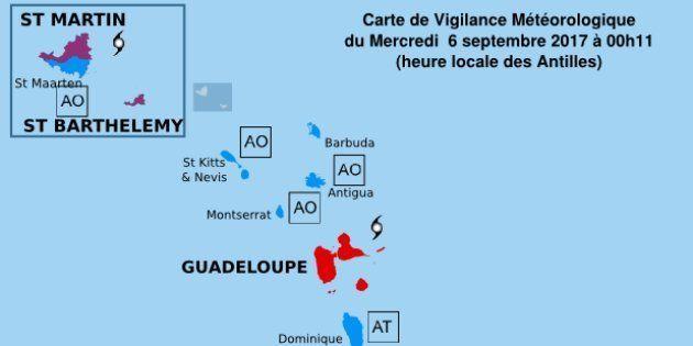 Les îles Saint-Barthélémy et Saint-Martin placées en alerte violette, à l'approche de l'ouragan