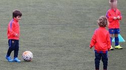 Le fils de Lionel Messi a commencé à s'entraîner à l'école du
