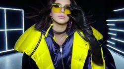 Kendall Jenner en doudoune futuriste dans une vidéo de