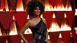 Les cheveux d'Halle Berry se sont fait remarquer sur le tapis