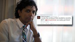 Le tweet parfait de Night Shyamalan après l'énorme erreur des