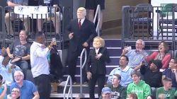 Vous n'avez jamais vu Donald Trump et Hillary Clinton danser comme