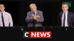 Les premières images de CNews qui a officiellement remplacé