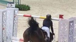 Guillaume Canet tombe lourdement de cheval mais sait en