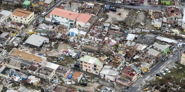 Saint-Martin: au moins 8 morts sur l'île