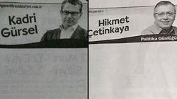 Ces journalistes turcs ont été arrêtés, leurs colonnes restent