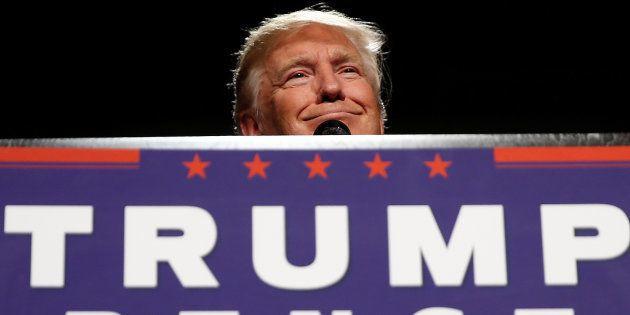 Donald Trump dans le Michigan le 31 octobre