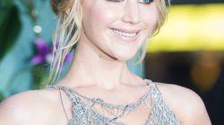 Jennifer Lawrence éblouissante dans sa robe