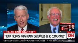 Bernie Sanders ne se remet pas de l'ignorance de Trump sur le système de santé