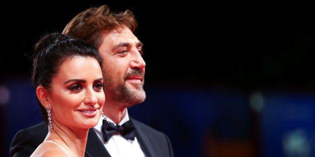 Javier Bardem et Penélope Cruz, glamours sur le tapis rouge de la