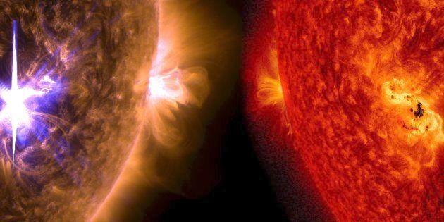 L'éruption solaire la plus forte depuis 9 ans a eu