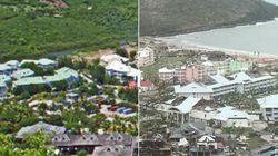 L'avant-après effrayant de ce village balnéaire de Saint-Martin après