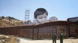 L'artiste JR a un projet pour la frontière