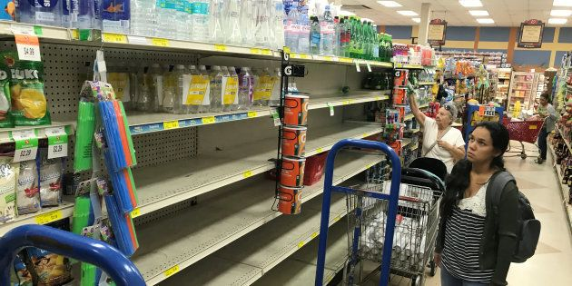 Un animateur radio américain croit que l'ouragan Irma fait partie d'une